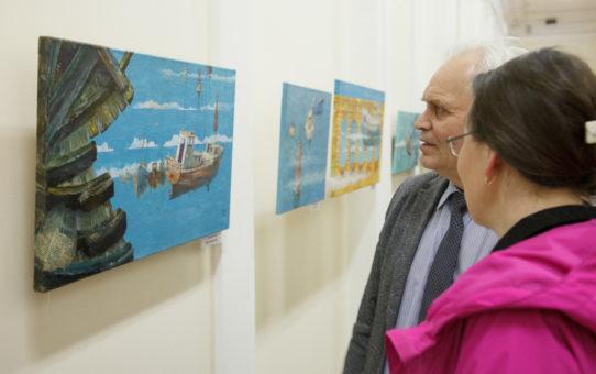 Открытие выставки «Корабли, моря, реки, заливы»